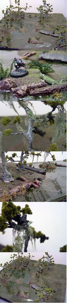 Malifaux Bayou Swamp Board