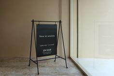 実績紹介-看板・サイン- JIN HAIR | 広島の店舗デザイン会社 株式会社アイシード i-seed co.,ltd