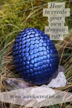 Dragon egg tutorial / Drachenei Tutorial How to create your own Game of Thrones style dragon egg