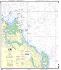 NOAA Nautical Chart 13269: Cohasset and Scituate Harbors