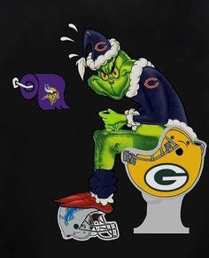 Where a real fan sh. Packers Memes, Nfl Memes, Football Memes, Sports Memes, Chicago Bears Funny, Chicago Bears Pictures, Bear Pictures, Bears Packers, Bears Football