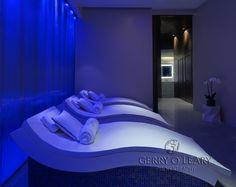 Relax and unwind in the uber cool spa at Dubai's Conrad Hotel. #photography #Conrad #spa #mydubai #luxurytravel #hotelprofs #Hilton
