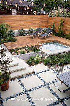 46 Attractive Small Pool Backyard Designs Ideas That You Can .- 46 Attraktive kleine Pool Hinterhof Designs Ideen die Sie inspirieren Gartendek… 46 Attractive Little Pool Backyard Designs Ideas That Inspire You Garden Decor # design -
