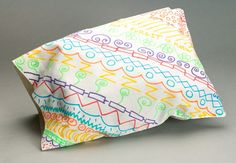 Decorate a pillowcase that you'll recognize in a flash. Great for birthday parties, sleepovers, family reunions, Halloween treat bags, and camp fun!