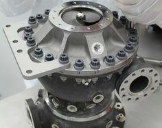NASA's 3D printed turbo pump (photo credit: NASA)