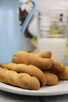 Traditional Greek Easter cookies.
