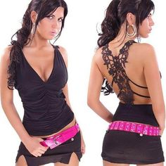 0a3f920e090 Hot Blusas Femininas Hot Classic Fashion Women Sexy Lace Vest