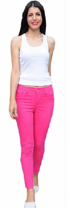 Fuşya Pantolon | Modelleri ve Uygun Fiyat Avantajıyla | Modabenle
