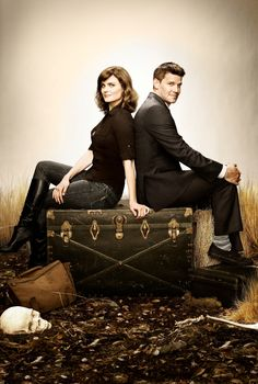 Bones - Brennan y Booth - TV Show