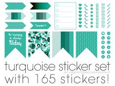 Erin Condren Vertical Life Planner Printable Sticker by RavenJuice