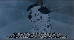 sick of winter!