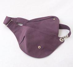 Orchid Purple Belt Bag Hip Bag Fanny Pack by rocksandsalt on Etsy