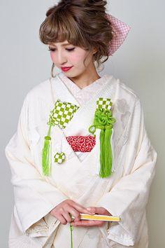 [着物スタイリング] 白無垢の花嫁和装小物レンタル