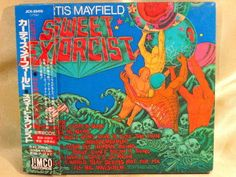 CD/Japan- CURTIS MAYFIELD Sweet Exorcist w/OBI RARE DIGIPAK JICK-89419 #FunkSoul