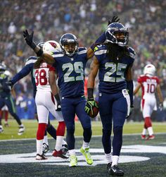 Seahawks Richard Sherman (25), and Earl Thomas (29), have been key players this season.