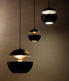 "Suspension Luminaire Industriel ""Here Comes the Sun"" Bertrand Balas – Noir Direct Lighting, Home Lighting, Lighting Design, Pendant Lamp, Pendant Lighting, Ceiling Lamp, Ceiling Lights, Dcw Editions, Delta Light"