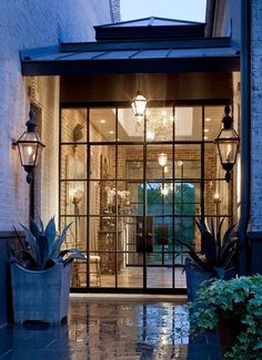 South Shore Decorating Blog: The Year's Best Trend: Interior Steel Doors and Windows