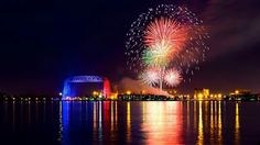 Awesome Fireworks in Duluth 2015