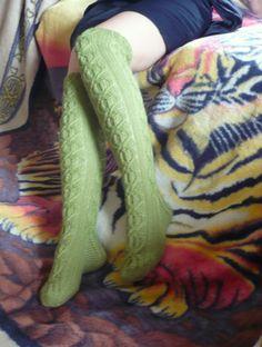 Green Warm Hand Knitted Ladies / Girls / Women от Ivolgaknits