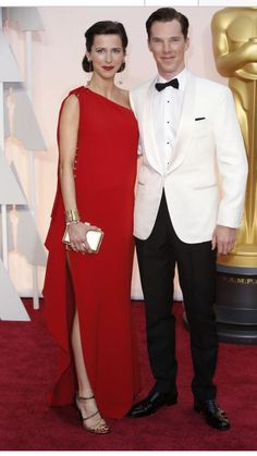 Benedict & Sophie at The Oscars 2015 22nd February 2015