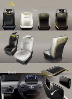 Toyota JPN Taxi Concept - Interior Design
