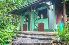 Shared bathrooms La Leona Eco Lodge La Leona Ranger Station, Corcovado National Park, Osa Peninsula, Costa Rica