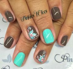 48 Most Amazing Ombre Nail Art Designs Summer nail art is a final touch to your bright image. Need some inspiration for your next manicure? These nail art designs are collected es Gorgeous Nails, Fabulous Nails, Pretty Nails, Short Nail Designs, Nail Art Designs, Nails Design, Fingernail Designs, Beach Nails, Shellac Nails