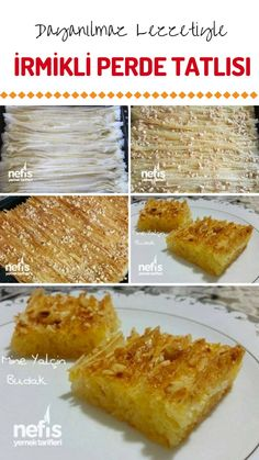 İrmikli Perde Tatlısı (videolu) – Nefis Yemek Tarifleri How to make Semolina Curtain Dessert Recipe? Leftover Turkey Casserole, Leftover Turkey Recipes, East Dessert Recipes, Boneless Turkey Breast Recipe, Turkey Crockpot Recipes, Turkish Sweets, Kebab Recipes, Yummy Recipes, Wie Macht Man