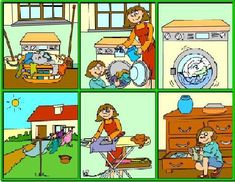 Secuencia Picture Comprehension, Reading Comprehension, Sequencing Pictures, Sequence Of Events, Math Poster, Spanish Activities, Therapy Tools, Our Kids, Speech Therapy