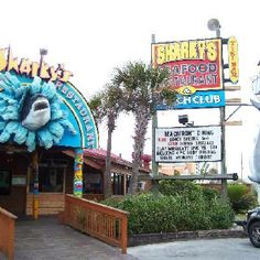 Sharky's - Panama City Beach Great place to eat. Great atmosphere. Karaoke nights!!