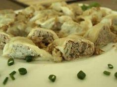 Polish Recipes, Polish Food, Christmas Cooking, Ravioli, Dumplings, Food And Drink, Cooking Recipes, Dishes, Desserts