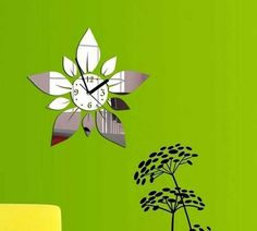 >> Click to Buy << petals pattern sticker DIY mirror wall clock wall sticker home decoration high quality on hot selling new desinged home decor #Affiliate