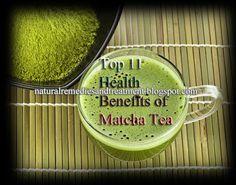 Top 11 Health Benefits of Matcha Tea