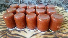 Fantasztikusan finom házi ketchup | TopReceptek.hu Home Canning, Easy Cake Recipes, Spice Mixes, Chutney, Pillar Candles, Zucchini, Smoothie, Food And Drink, Cooking Recipes