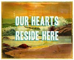 Our Hearts Reside Here  Large print by pleasebestill on Etsy, $39.99