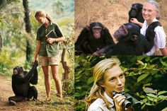 Jane Goodall (Fun fact, her first name is actually Valerie).