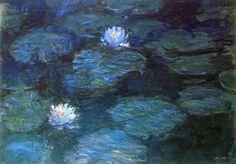 """ Claude Monet, ""Water Lilies"", 1899 """
