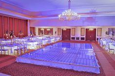 Pista de baile iluminada en tu boda. Conoce Palacio Le Crillón http://www.nupcias.grupopalacio.com.mx/