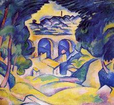 Georges Braque - Viaduc de l'Estaque