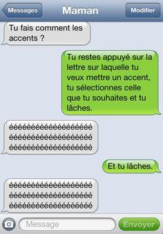 25 textos hilarants de ta mère, qui vont te faire regretter le jour ou elle a acheté son iPhone...