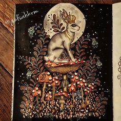 #glshscolors #dagdrömmar #hannakarlzon #adultcoloringbook #coloringbook…