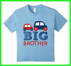 Kids Kid's Big Brother Car T-Shirt for Boys 6 Baby Blue - Relatives and family shirts (*Amazon Partner-Link)
