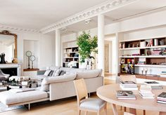 Inside+the+Most+Elegant+Ladylike+Apartment+via+@domainehome