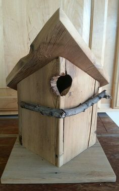 Bird House Kits Make Great Bird Houses Bird House Plans, Bird House Kits, Bird Houses Painted, Bird Houses Diy, Bird House Feeder, Bird Feeders, Birdhouse In Your Soul, Birdhouse Designs, Bird Aviary