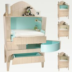 Convertible Changing Table from Castor & Chouca