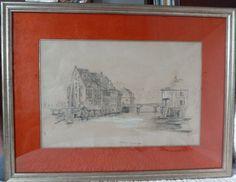 Encadrement - dessin à la pierre noire - Strasbourg Strasbourg, Painting, Art, Picture Frame, Drawing Drawing, Art Background, Painting Art, Kunst, Paintings
