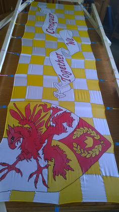 Made by Finna's Medieval Banners. Find me on Facebook for your custom order