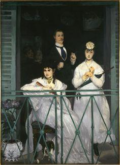 LE Balcon d' Edouard MANET