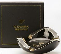 Cohiba BEHIKE Black Oval Cigar Ashtray