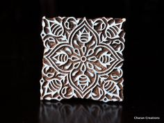 Tjaps Indian wood stamps Textile stamp Pottery by charancreations